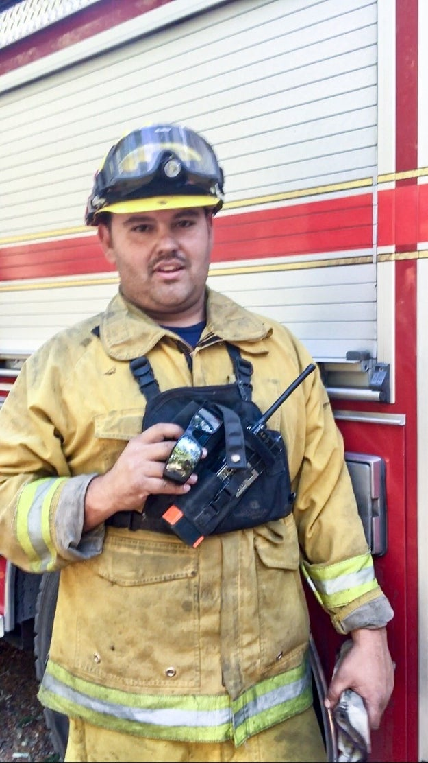 """It is hectic and crowded and hard to sleep,"" said Petaluma firefighter Chris Bonilla. ""But they're super important and bring us together."""