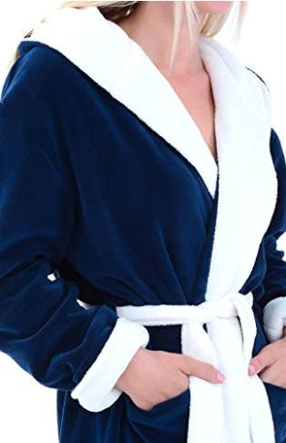 134397e03a This ultra-soft hooded robe that s perfect for cozying up and hiding away.  Share On Facebook Share ...
