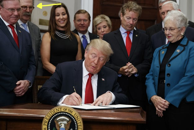 One of the small business representatives who appeared at the signing of the executive order was Dave Ratner, who owns Dave's Soda and Pet City, a chain of seven pet stores in Massachusetts.