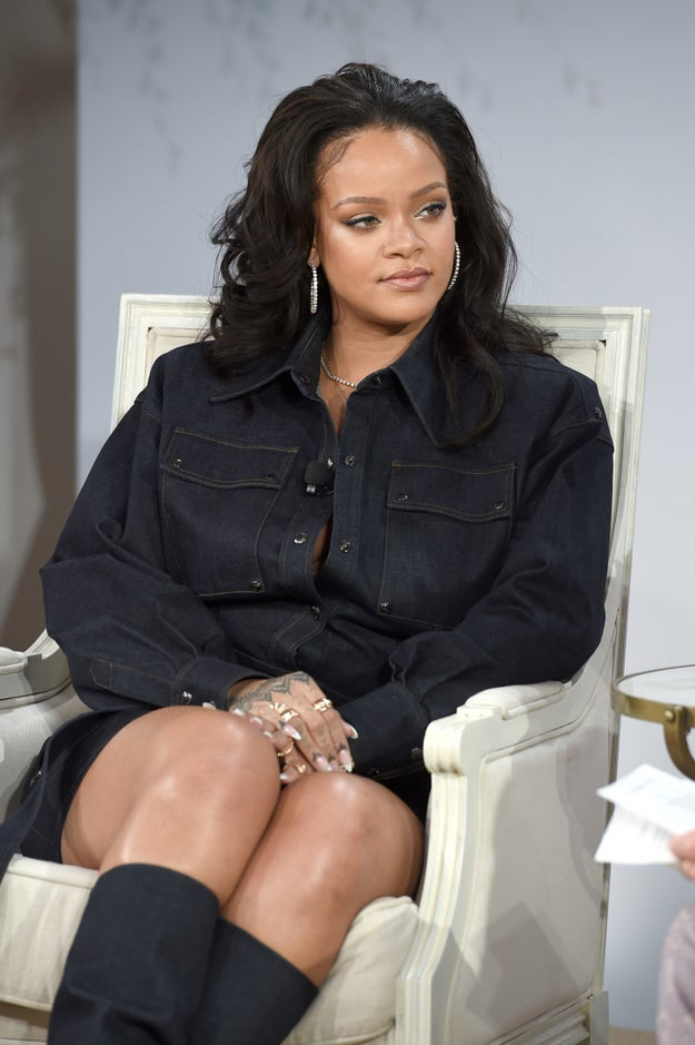 And until now, RIhanna hasn't really discussed her body too much — since, you know, she shouldn't have to.