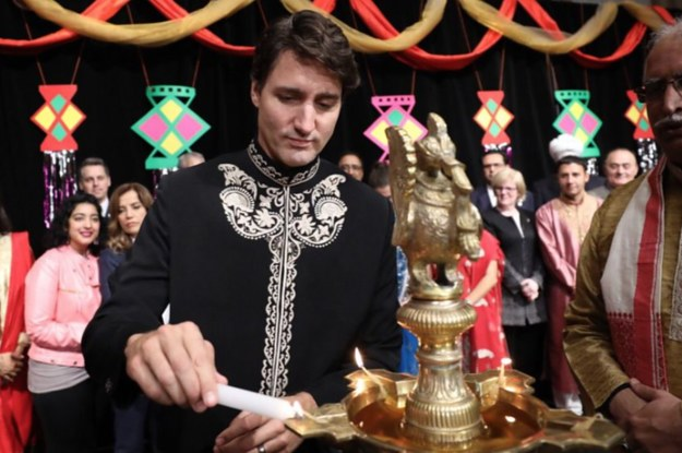 "Justin Trudeau Wished Everyone ""Diwali Mubarak"" And People Got Salty"