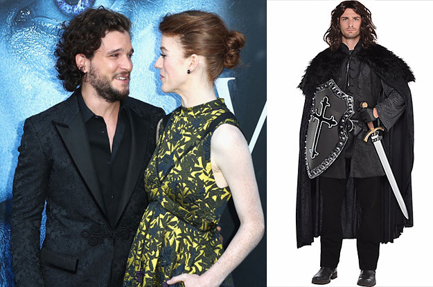 Rose Leslie Made Kit Harington Go To A Costume Party As Jon Snow, So She's My New Favorite Person