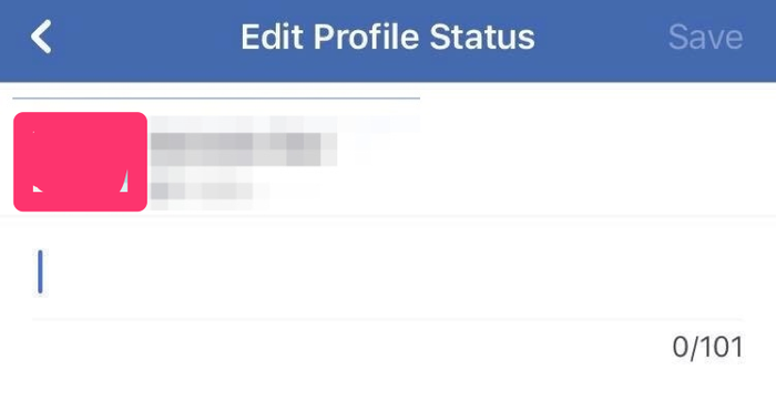 A tipster shared the new profiles status compose box with BuzzFeed News.
