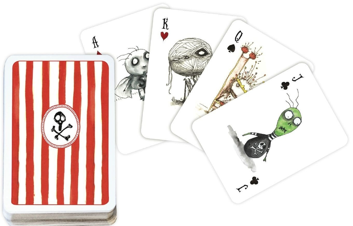 From Dark Horse Comics and Tim Burton, these 52 cute and creepy cards were overseen by Burton himself.Get them from Amazon for $6.99.