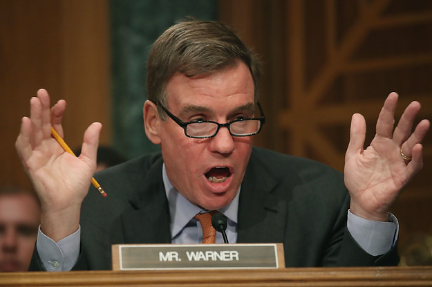 Warner Calls For Probe Of Report That Russian Company Sent Employees To US