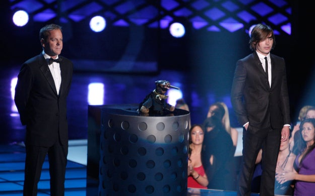 Speaking of awkward moments, remember these three at the MTV Movie Awards in 2009?