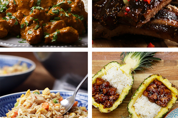 A Tour Of Delicious Asian Inspired Dinner Recipes