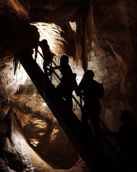"""The history: Known to the Gundunbuggra people as """"Binoomea"""" which means """"the dark place"""", there have been a number of strange experiences connected to the limestone caves of Jenolan. Most of these are linked to James Wiburd, Jenolan's third caretaker from 1903. It's said that Wiburd loved the caves so much that he chose to never leave, lingering to keep an eye on things.Now: There have been reports of gates rattling for no reasons, lights turning on and off, as well as apparitions appearing in photos. If you're not still not convinced, there is the option to stay overnight and experience the night tour."""