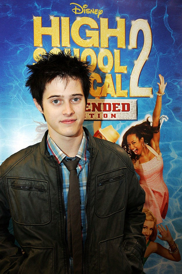 Here's Lucas Grabeel clearly in the midst of his emo/scene phase.