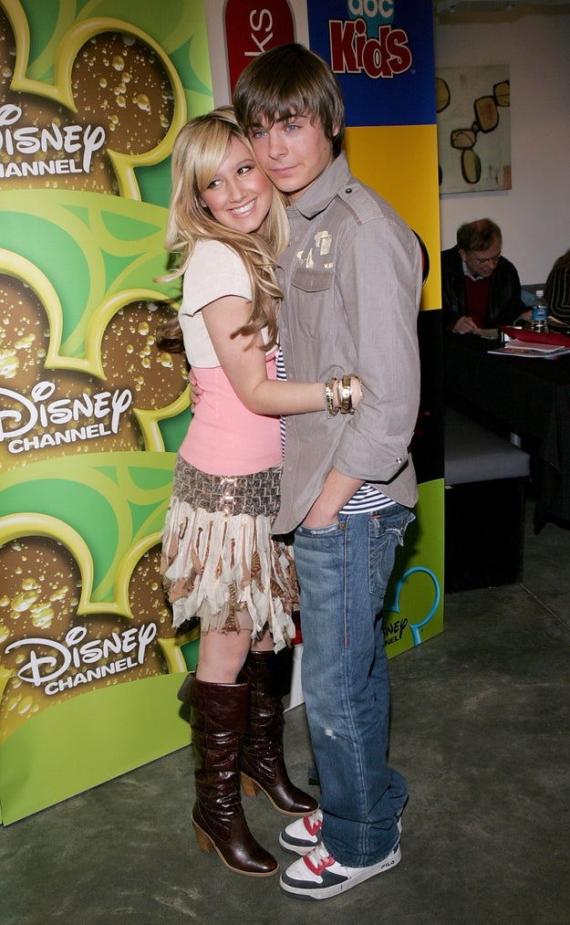 This pic of him and Ashley Tisdale... I can't.