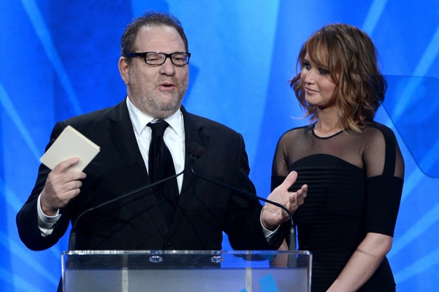 "Lawrence's speech comes after the allegations of sexual harassment and assault against Harvey Weinstein, who she worked with on Silver Linings Playbook. Last week, in a statement, Lawrence called the allegations ""absolutely upsetting""."