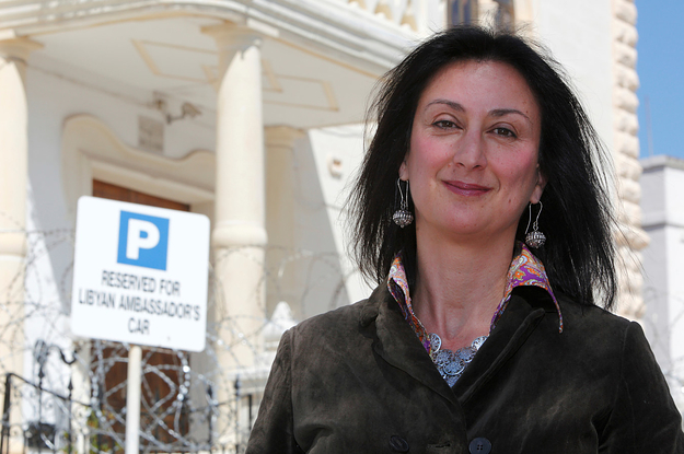 The Son Of A Journalist Killed In A Car Bomb Claims She ...