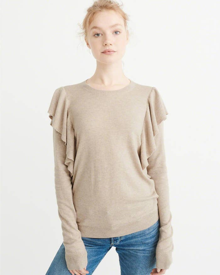 Get it from Abercrombie & Fitch for $23.50 (originally $58). Available in four colors, sizes XS–XL.