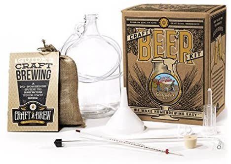24 thoughtful gifts for gluten free people a craft beer kit to brew their own gluten free beer negle Choice Image