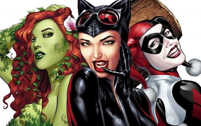 Una especie de secuela de Suicide Squad, aún sin fecha de lanzamiento, que seguirá a Harley Quinn, Poison Ivy y Catwoman.