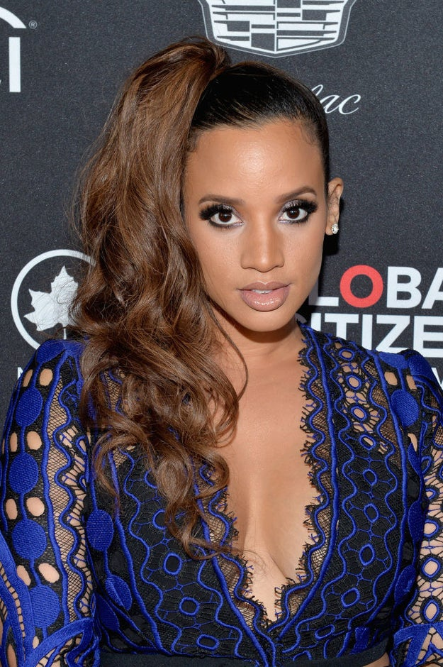 This is Dascha Polanco. She plays Daya on Orange Is the New Black and is more fashionable than I'll ever be.