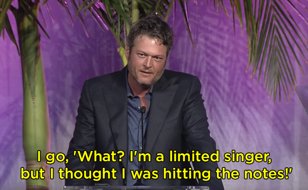 Blake was confused as to why Kelly didn't think he nailed the performance: