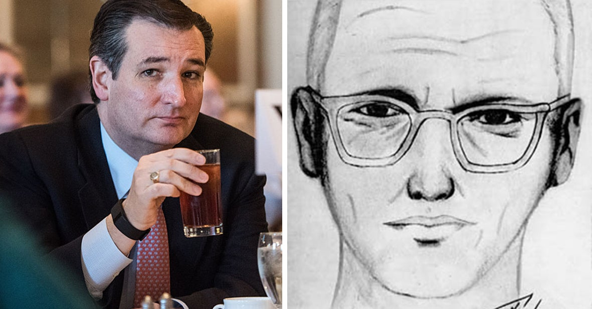 A Senator Dumped A Dr Pepper On Ted Cruz And Ted Cruz Made A Joke About Being The Zodiac Killer