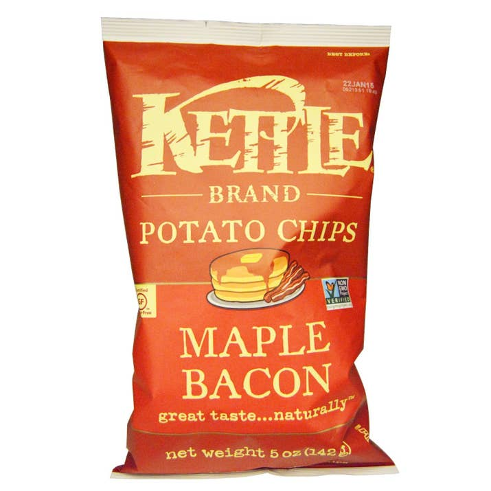The Maple Bacon, Sea Salt, and Sriracha flavors are vegan.