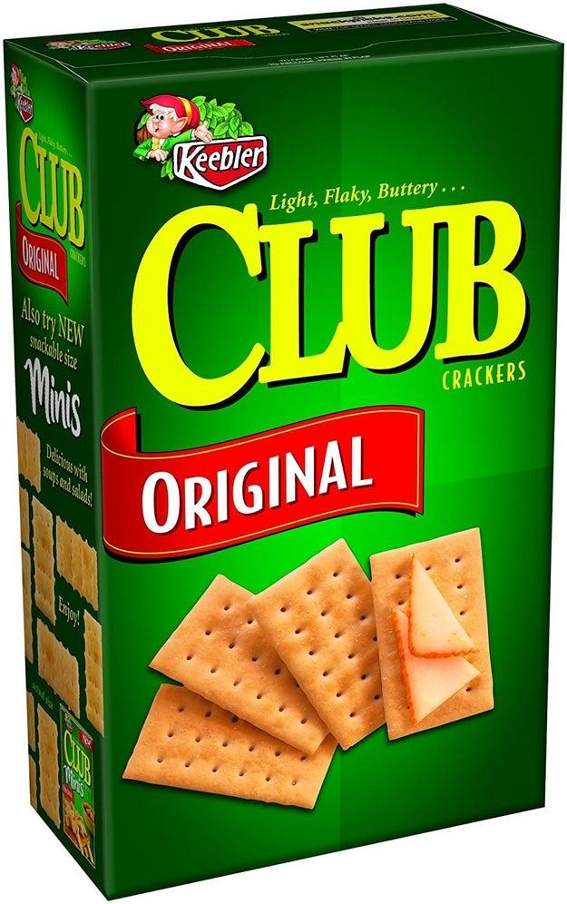 Keebler Original Club Crackers