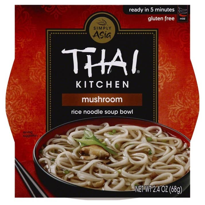 The Mushroom, Hot & Sour, Roasted Garlic, Spring Onion, and Thai Peanut flavors are vegan.