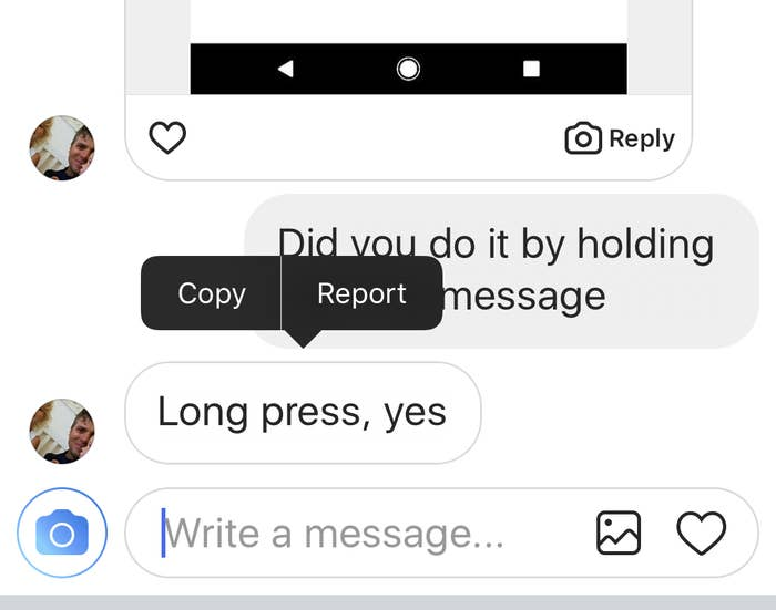 Instagram Doesn't Make It Easy To Report Abusive DMs