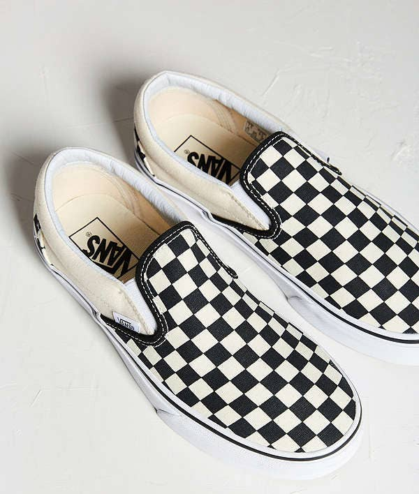 1e7d74138267 Emo checkered Vans to take you back to the time when Fall Out Boy dominated  your music playlist.