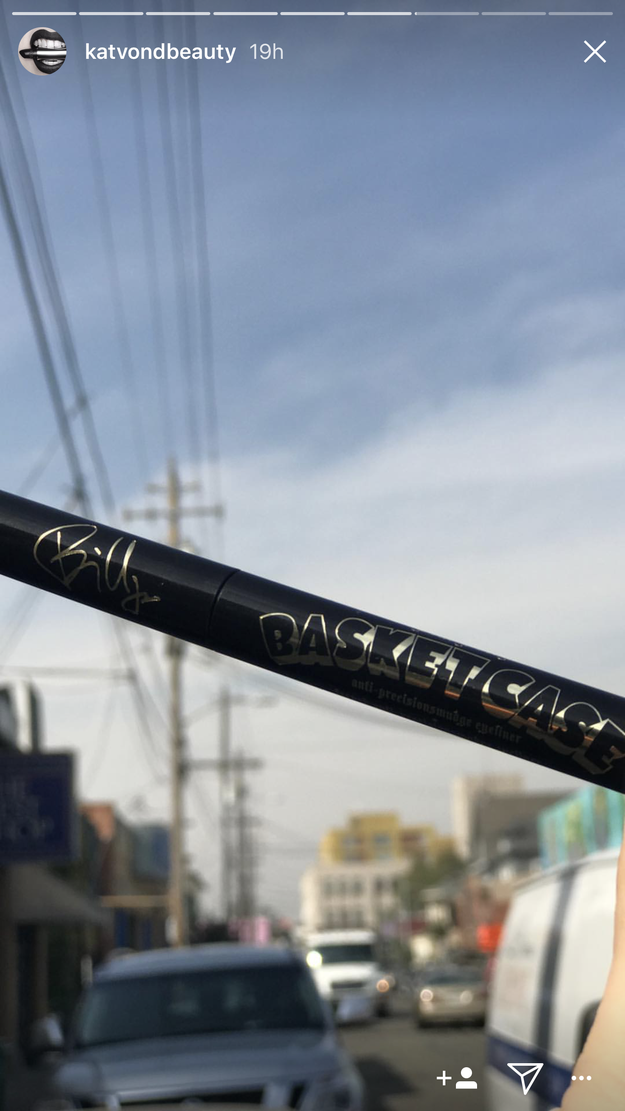 If you're not interested in makeup, this eyeliner is a perfect piece of memorabilia if you're a fan of the band; Billie Joe's signature will be engraved on it.