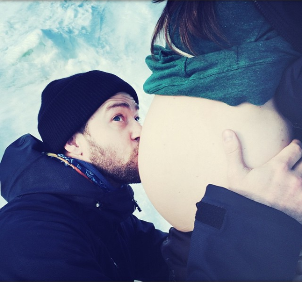 """Justin Timberlake used his birthday in 2015 to announce that he and wife Jessica Biel were expecting their first child. Instagram Caption: """"Thank you EVERYONE for the Bday wishes! This year, I'm getting the GREATEST GIFT EVER. CAN'T WAIT. #BoyOrGirl #YouNeverKnow#WeDontEvenKnow# WeAreTakingBets""""Deets on the baby: It turns out they were having a boy — their son, Silas, is now 2 years old."""