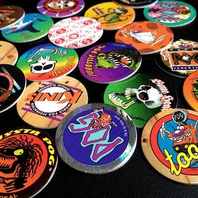 Was there a game you were meant to play with Pogs? Mainly, you just collected like 500 of them and occasionally scattered them across the floor to show your friends.