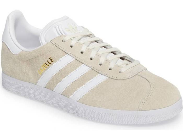 wholesale dealer 0c5df 999f5 Reliable Adidas Gazelles to bring the passion of soccer into everyday life.  They even have removable insoles so you can wash em  when they get too  funky.