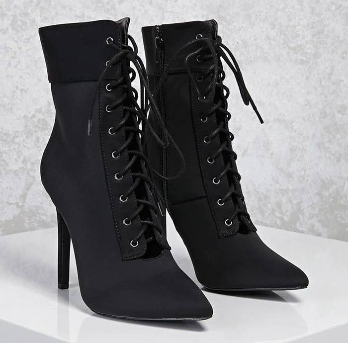 2217dac1999d Get them from Forever 21 for  37.90 (available in sizes 5.5-10 and two