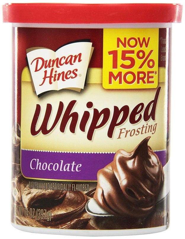Duncan Hines Whipped Frosting