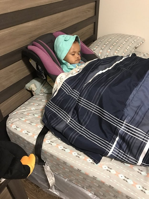 "There, Williams realized Cade had listened to her instructions diligently...almost too diligently. He had taken London straight out of the car and directly into bed, without passing ""Go,"" collecting $200, or removing her car seat. He did, however, tuck her and the car seat in."