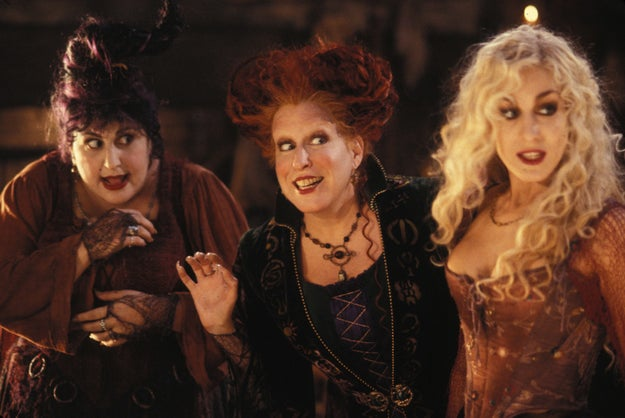 No doubt about it, Hocus Pocus is ~the~ movie of the Halloween season.