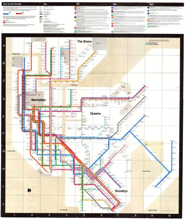 7. New York Subway System, 1977