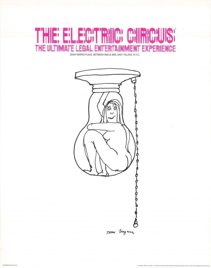 3. The Electric Circus, 1968