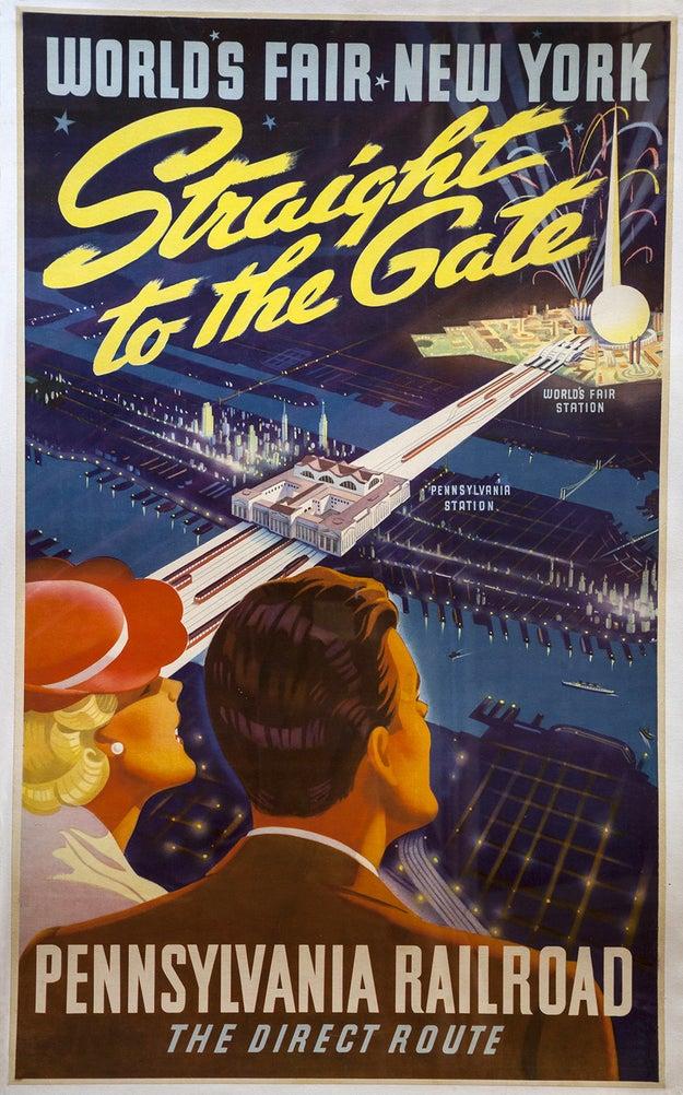 4. World's Fair New York / Pennsylvania Railroad, 1939