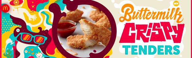 To help promote its buttermilk crispy tenders, McD's is offering Szechuan Sauce in a select few of its restaurants on Oct. 7.