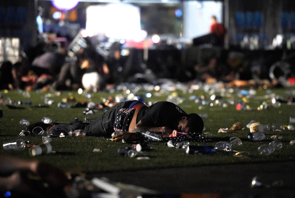Photos Show The Terrifying Aftermath Of The Las Vegas Mass
