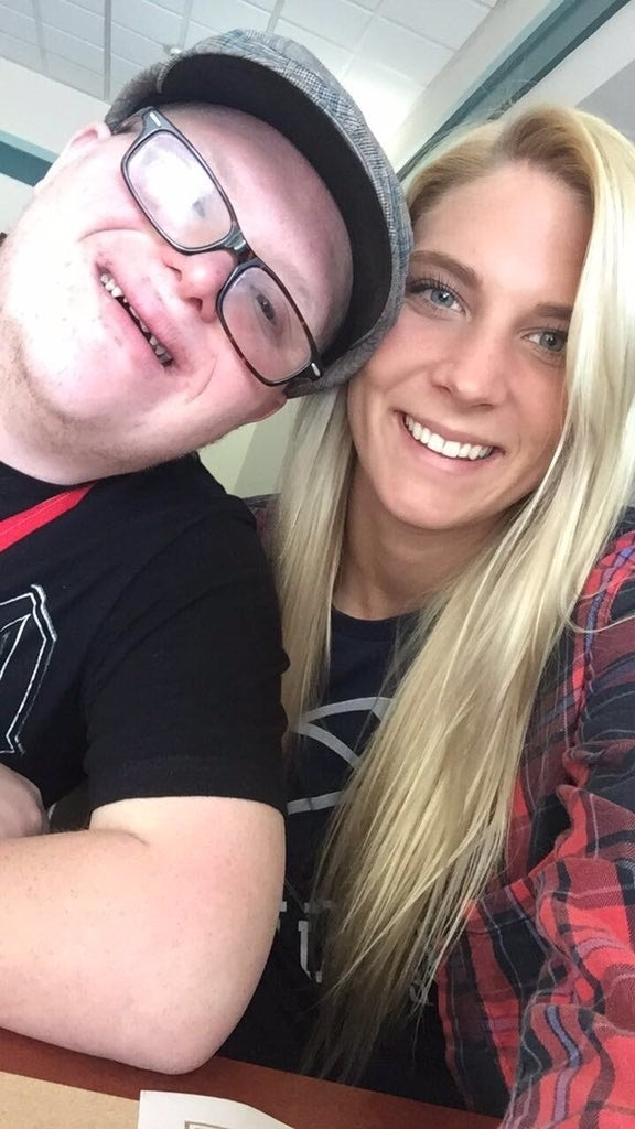 Kacie met Zack through a program called Lifelink, which helps special education students engage in academic programs. Through Lifelink, Zack takes courses at Penn State – one of which is a fitness walking program he takes with Kacie.