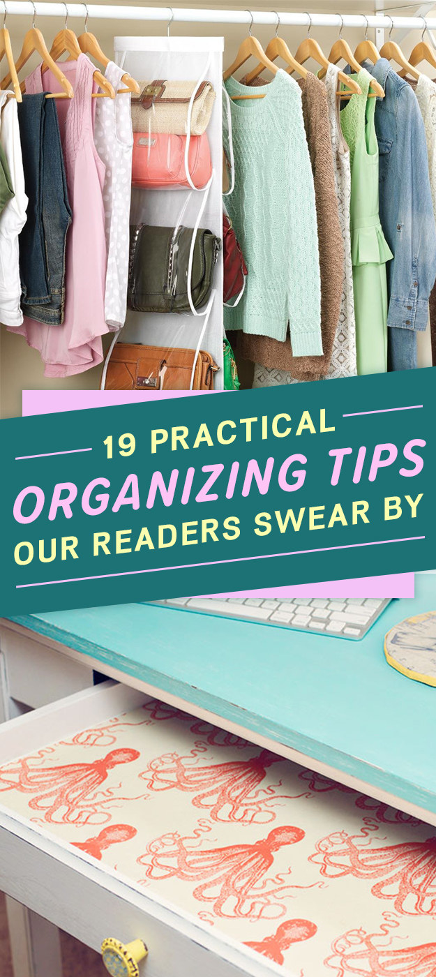 19 Genius Organizing Tips Our Readers Actually Swear By