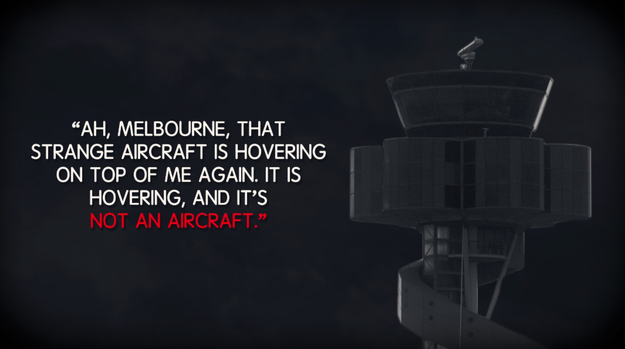 His last message to air traffic control was around 7:12 PM: