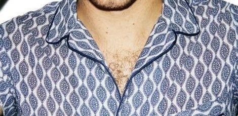 Yes, the rumors are true. Niall Marie* Horan has chest hair and is a burgeoning cub!