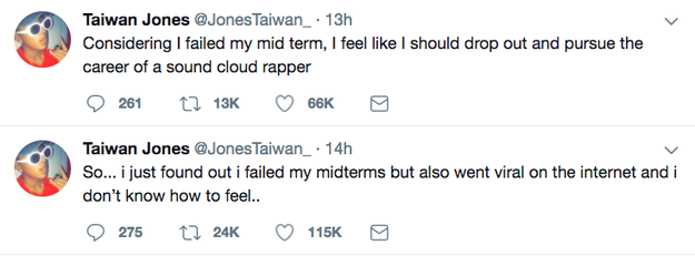 """That """"Taiwan Jones"""" went viral several more times tweeting about the incident."""