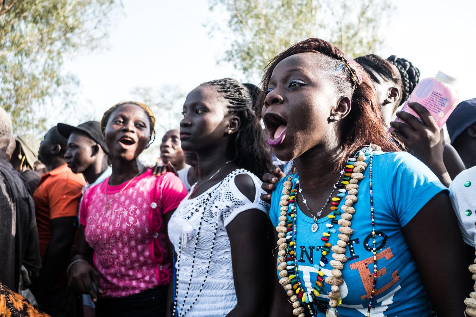 Meet The Badass Women Wrestlers Of Senegal