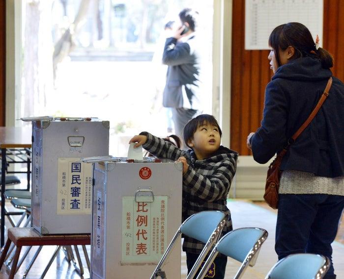 2012年、衆院選の光景