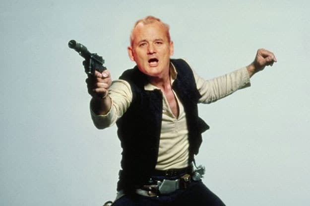 Bill Murray was almost chosen for the role of Han Solo.