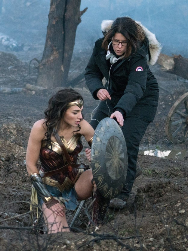 Gal Gadot hid the fact that she was pregnant when she was on set shooting Wonder Woman.