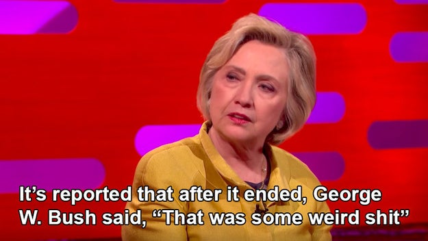 Basically, post-election Hillary Clinton is actually all of us.